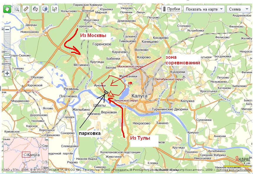 карта подготовлена 1990 г,